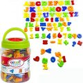 SIMUER Letras y números magnéticos Magnetic Alphabet Letters Numbers Symbols Refrigerator Magnets...